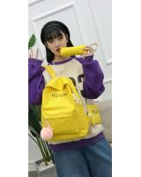 KW80945 Bundle Color Backpack Yellow