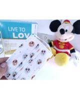 FM1004 WISDOM GRACE Kid Disposable Cartoon Design Kids 3 Ply FaceMask BFE99 PFE99 Premium Ear-Loop 10pcs Mickey 2