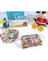 FM1004 WISDOM GRACE Kid Disposable Cartoon Design Kids 3 Ply FaceMask BFE99 PFE99 Premium Ear-Loop 10pcs Mickey 4