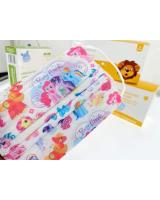 FM1004 WISDOM GRACE Kid Disposable Cartoon Design Kids 3 Ply FaceMask BFE99 PFE99 Premium Ear-Loop 10pcs Pony
