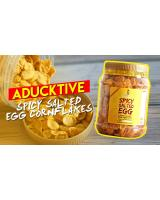 [HALAL] ADUCKTIVE SPICY SALTED EGG CONFLAKES 220 GRAM