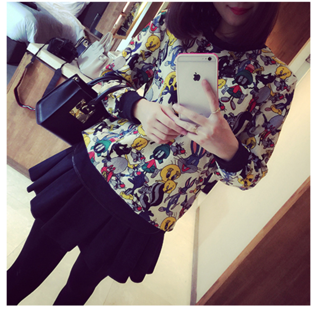 WT5768 Cute Top As Picture