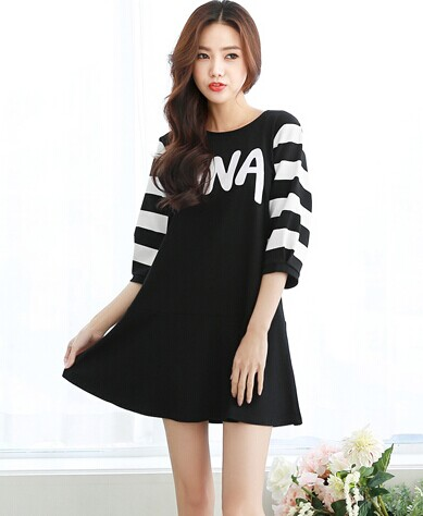 WD5781 Stylish Dress Black