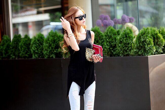 WT5785 Stylish Top Black