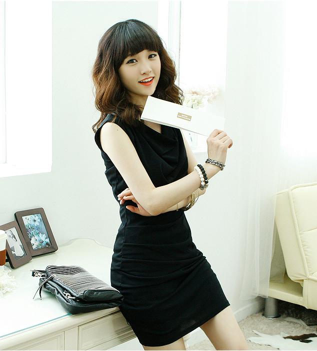 WD5824 Elegant Dress Black