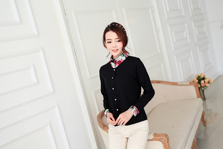 WT5828 Fashion Top Black