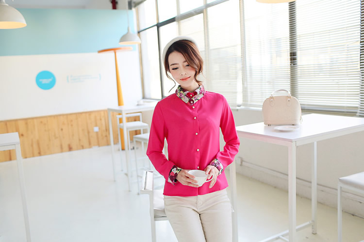 WT5828 Fashion Top Pink