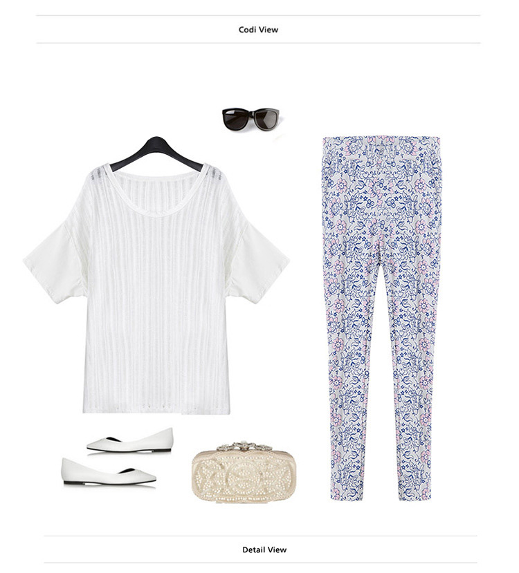 WP5861 Europe Floral Pant As Picture