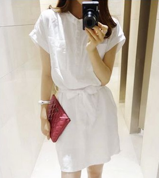 WD5904 Fashion Dress White