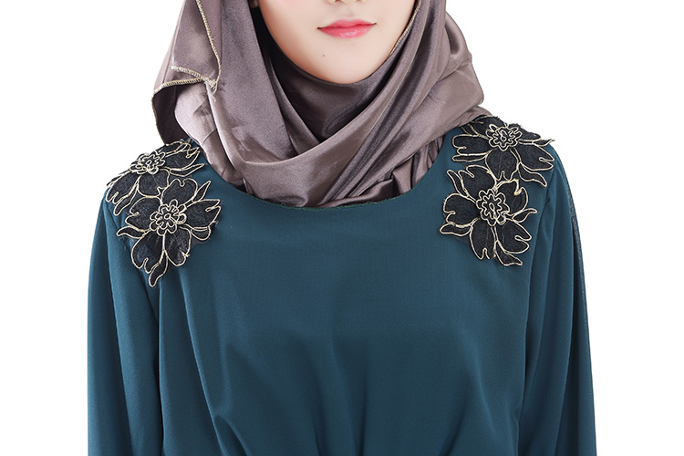 WH3335 Fashion Jubah Turquoise