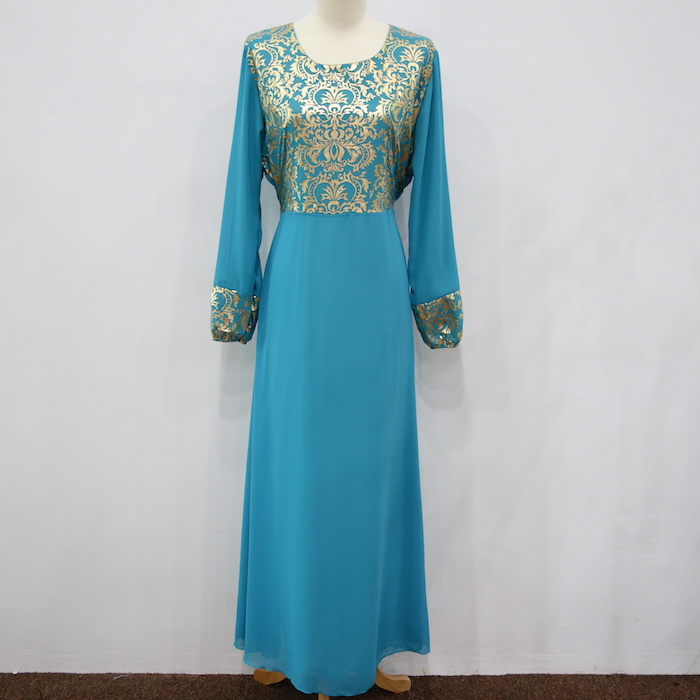 WH3337 Charming Jubah Light Blue