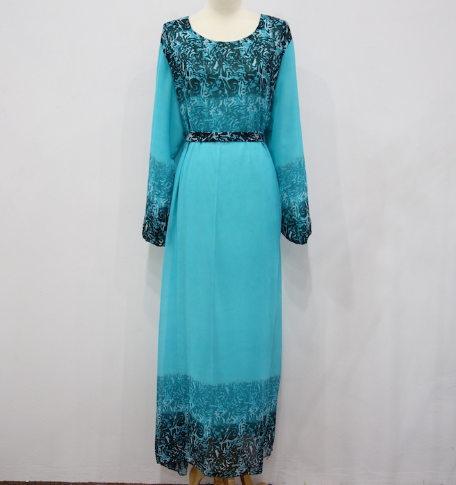 WH3339 Stylish Jubah Tosca