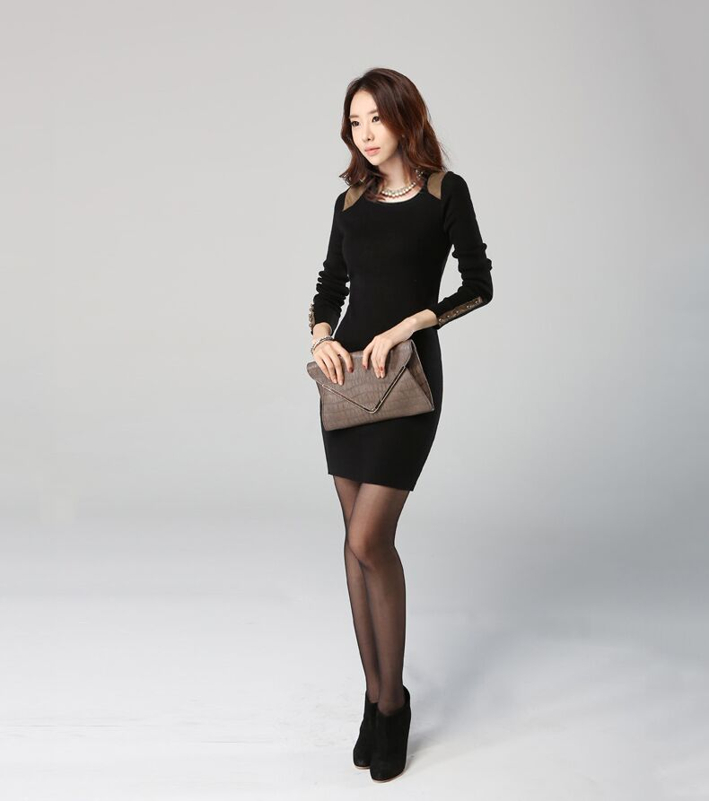 WD3607 Charming Dress Black