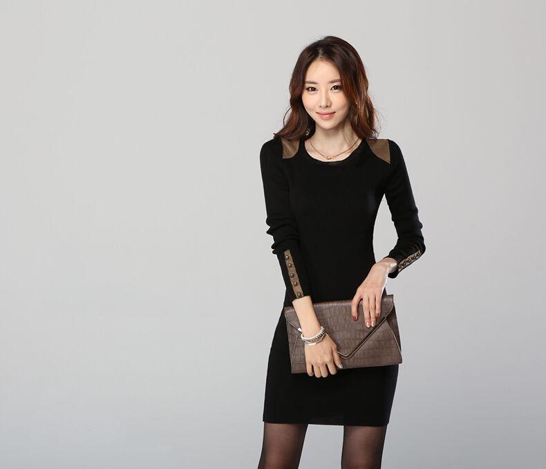 WD3607 Charming Dress Black