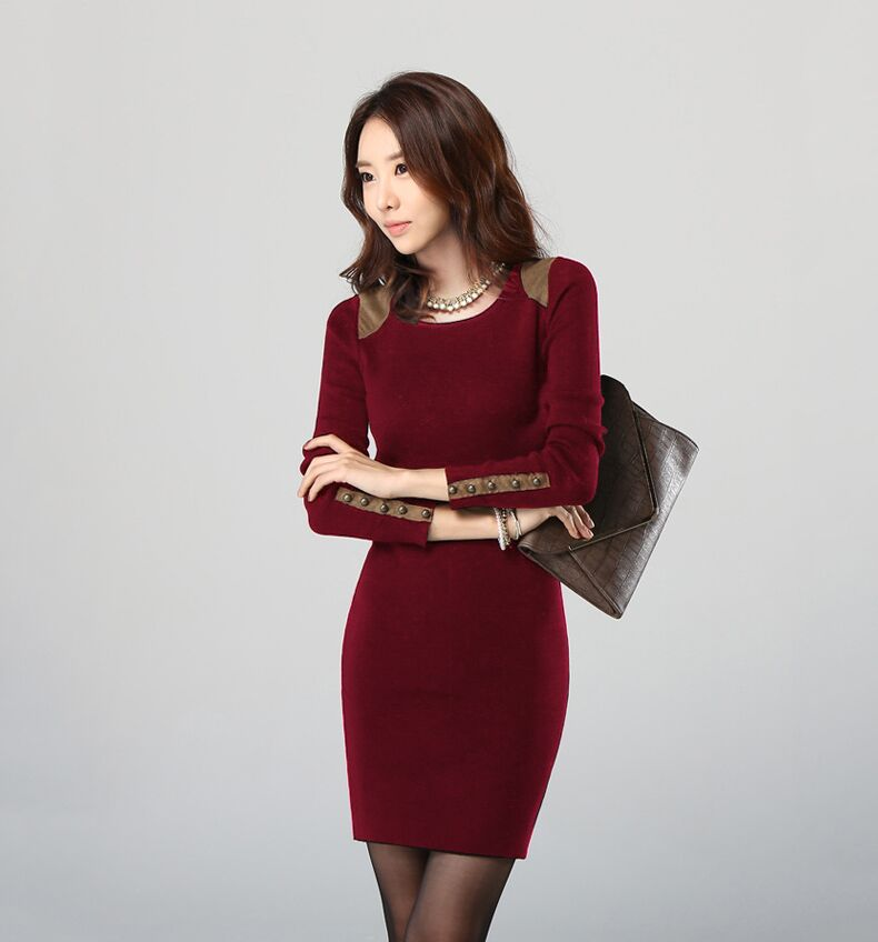 WD3607 Charming Dress Maroon