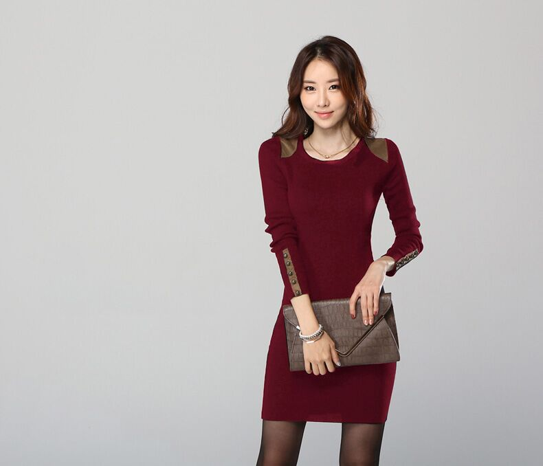 WD3607 Charming Dress Maroon