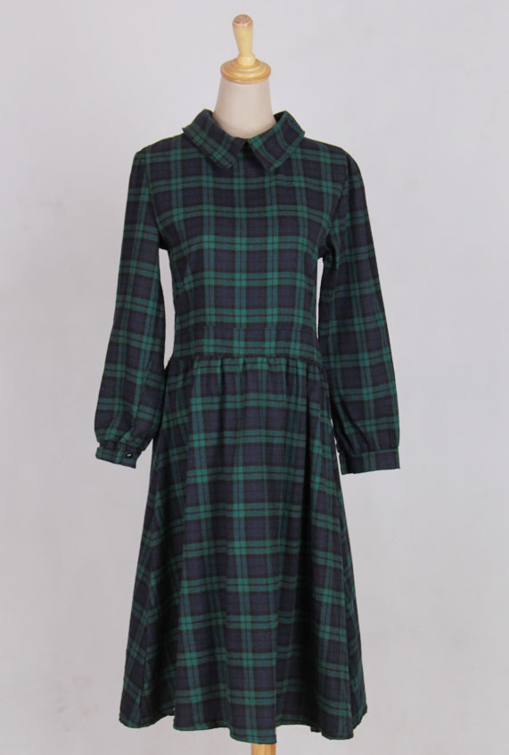 WD6763 Checker Dress As Picture