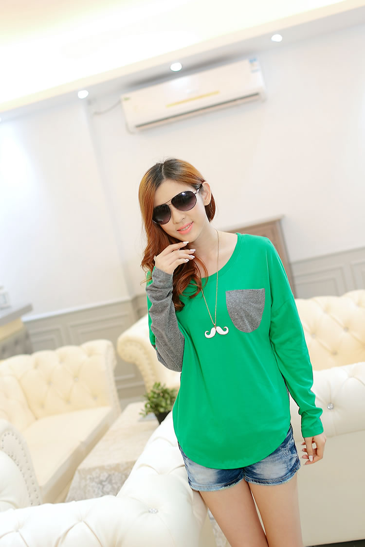WT6777 Stylish Top Green