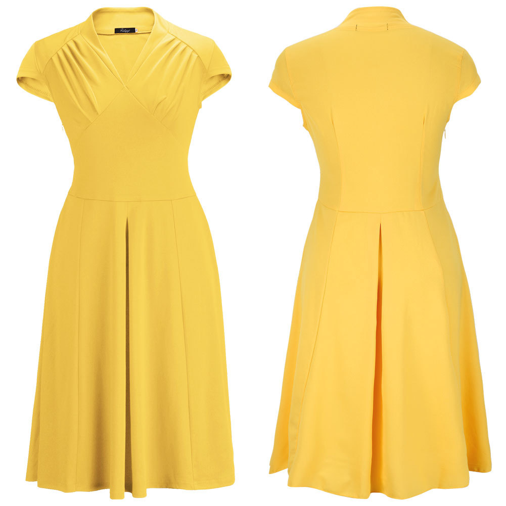 WD6801 Classic Dress Yellow