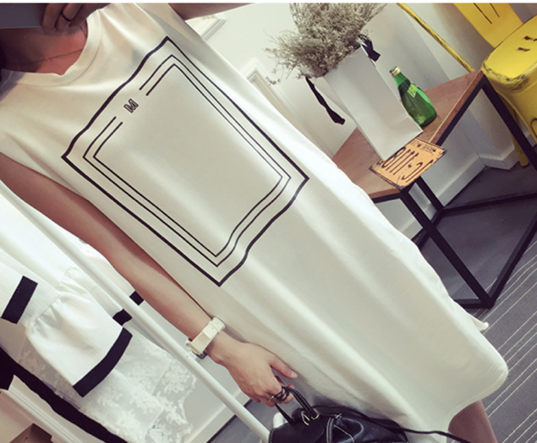 WD6181 Korea Fashion Dress White