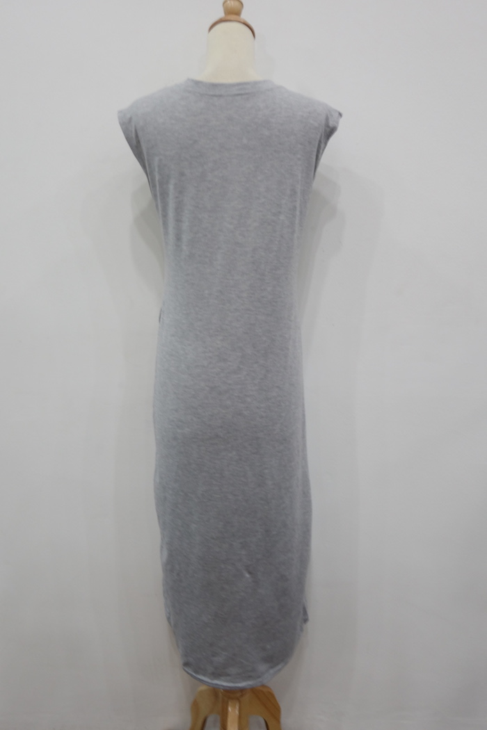 WD6967 Fashion Dress Grey
