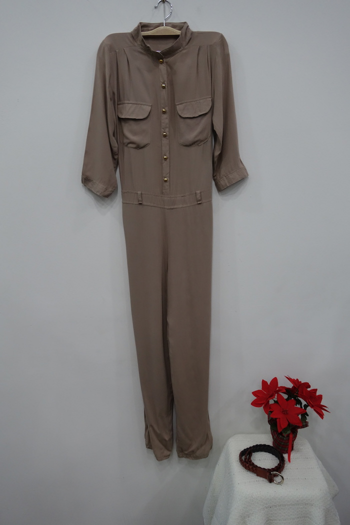 WP1151 Stylish Jumpsuit Khaki