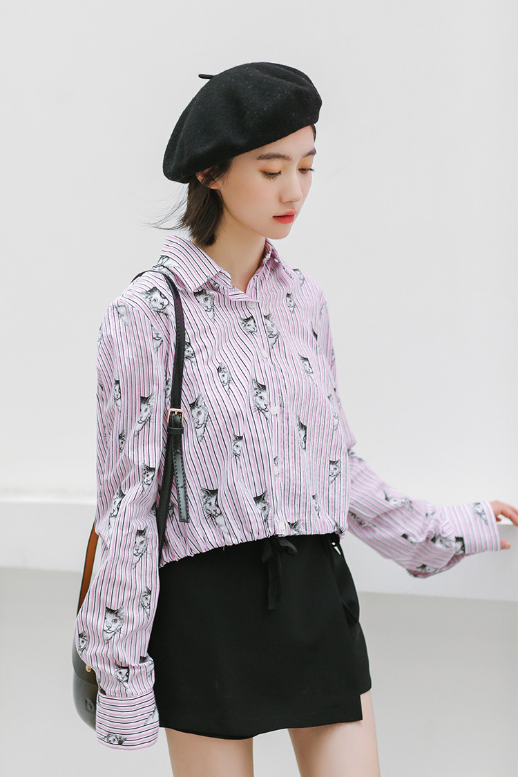 VW8728 Cute Fashion Top Pink