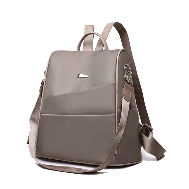 KW80439 STYLISH CASUAL BACKPACK KHAKI